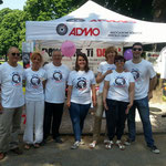 Il direttivo dell' ADMO, Associazione Donatori di Midollo Osseo di Lonigo
