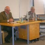 Dr. Gottfried Feuerstein mit Altbgm. Werner Gächter