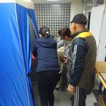 ポータブルトイレ&目隠し用テント