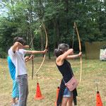 Atelier tir à l'arc