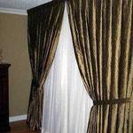 Custom Made Silk Drapery by Drapery King Toronto 647 219 1714