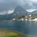 lacs d'Ayous et le Pic du Middi d'Ossau