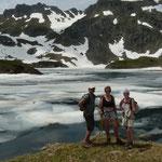 lacs d'Ayous avec nos amis alsaciens