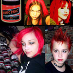 Manic Panic CREAM dye- Pillarbox Red (Glows Under Black Light)-hcr11020-118mg-¥2,100