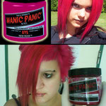 Manic Panic CREAM dye- New Rose-11026mpdye-118mg-¥2,100