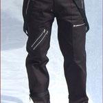 Bondage Strap Trousers by Tiger Of London- BLACK / ¥13,000 / SKU: ccf821blk