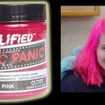 Manic Panic AMPLIFIED dye- Hot Hot Pink (Glows Under Black Light)-acr91015- 118mg-¥2,100