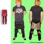 Bum Flaps And Straps Bondage Pants by Tiger Of London / ¥9,000 / SKU: CCF738 / Black-Black, Black-Leopard /
