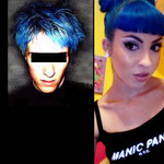 Manic Panic CREAM dye- Bad Boy Blue-hcr11017-118mg-¥2,100