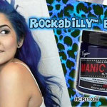 Manic Panic CREAM dye- Rockabilly Blue-hcr11039mp-118mg-¥2,100
