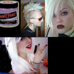 Manic Panic CREAM dye- Virgin Snow (White toner for bleached hair)-hcr11033-118mg-¥2,100