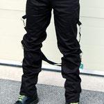 UK 2 Strap Bondage Pants by Tiger Of London- BLACK / ¥14,000 / SKU: ccf703blk