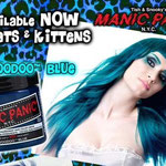 Manic Panic CREAM dye- Voodoo Blue-hcr11038mp-118mg-¥2,100