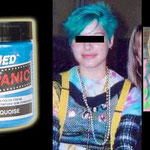 Manic Panic AMPLIFIED dye- Atomic Turquoise-acr91002- 118mg-¥2,100
