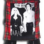 Red Plaid Bum Flap With Sid & Nancy Print by Tiger Of London: ¥3,800 / 18 inches by 16 inches