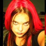 Manic Panic AMPLIFIED dye- Pillarbox Red (Glows Under Black Light)-acr91020- 118mg-¥2,100
