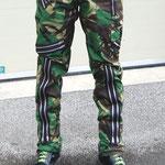 Original 15 Zip Bondage Pants by Tiger Of London- GREEN CAMO / ¥14,000 / SKU:ccf755grncamo