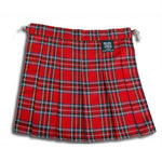 Red Plaid Pleated Bum Flap / ¥3,400 / SKU: ccj704 / sized : ASK