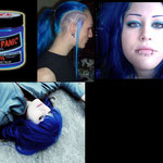 Manic Panic CREAM dye- Shocking Blue-hcr11028-118mg-¥2,100