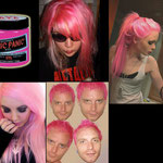 Manic Panic CREAM dye- Cotton Candy Pink (Glows Under Black Light)-hcr11004-118mg-¥2,100