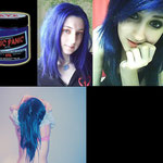 Manic Panic CREAM dye- After Midnight Blue-hcr11001-118mg-¥2,100