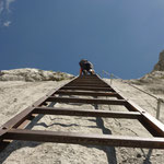 Die Thronleiter - für geübte Berggeher