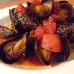 ムール貝たっぷりトマトソース