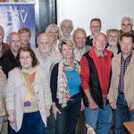 Gruppenfoto der anwesenden Jubilare im Kreis Aschaffenburg