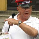 Origineller Stadtführer in Kitzingen: Onkel Willi