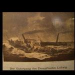 Untergang des DS Ludwig; Stadtmuseum Lindau