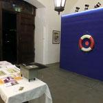 """Eingangsbereich zur Ausstellung """"Dampf im Kessel""""; Stadtmuseum Cavazzen Lindau Dez.2016; Foto S.Stern"""