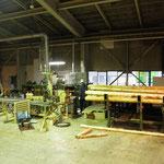 小径木加工ライン