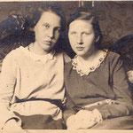 1927 Schwester Gerda und Hilde in Hannover