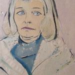 1954, Maria Cziekau, 34 x 53, Aquarell