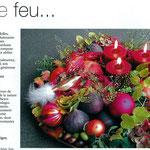 Tendance Déco - photographie pour Kanouche Fleurs - janvier 2005 - photo ©palprod.ch