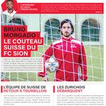 Couverture FC Sion Mag // Photo © Nathalie Pallud