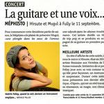 La Gazette - 3 septembre 2010 - photo ©palprod.ch