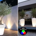 Vase LED, éclairage design assuré