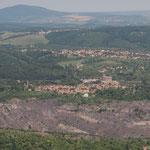 Blick vom Fernsehturm nach Norden