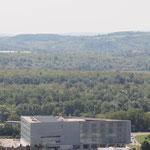 Die ebenfalls neue Hauptbibliothek und Wissenszentrum Süd-Transdanubiens