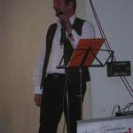 Walter bei der Vorstellung vom Musikverein Bodenbach