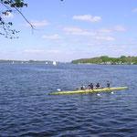 Rudern auf den Seen