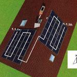 Ausrichtung der PV-Anlage, Foto: elektroma GmbH
