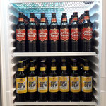 Cold beer - check! Sehr lecker, das, Fuller's! Danke auch an Nils von One Pint GmbH!