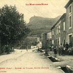 Tarn - Dourgne - Haut de l'avenue du Maquis
