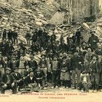 Tarn - Dourgne - employés des Ardoisières
