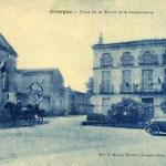 Tarn - Dourgne - Place Jean Bugis