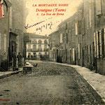 Tarn - Dourgne - Rue de Rome