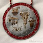 K.G. Rut-Wiess Löstige Langeler e.V. - 1982 - Souvenirs aus aller Welt - in Langel op d' Kopp jestellt