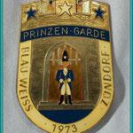 K.G. Blau-Weiss Zündorf - Prinzengarde der Stadt Porz- 1973